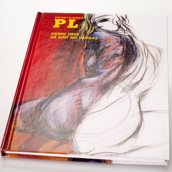strhess press he aint no vargas limited edition hardbound book