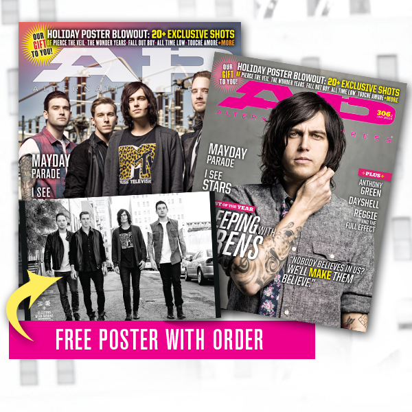 Free poster + 306.1 & 306.2 Sleeping With Sirens (01/14)