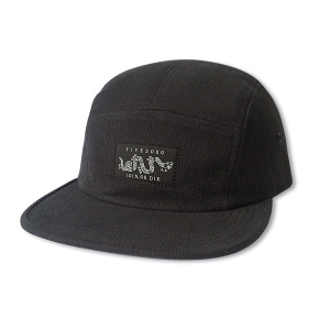 JOIN OR DIE FIVE PANEL- BLACK BEDFORD CORD