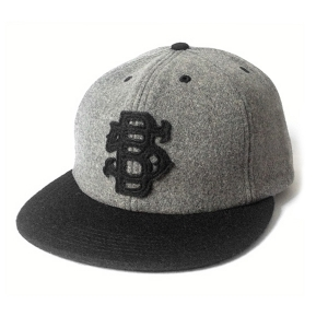 VINTAGE 5B SIX PANEL- GREY WOOL