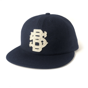 VINTAGE 5B SIX PANEL- NAVY WOOL