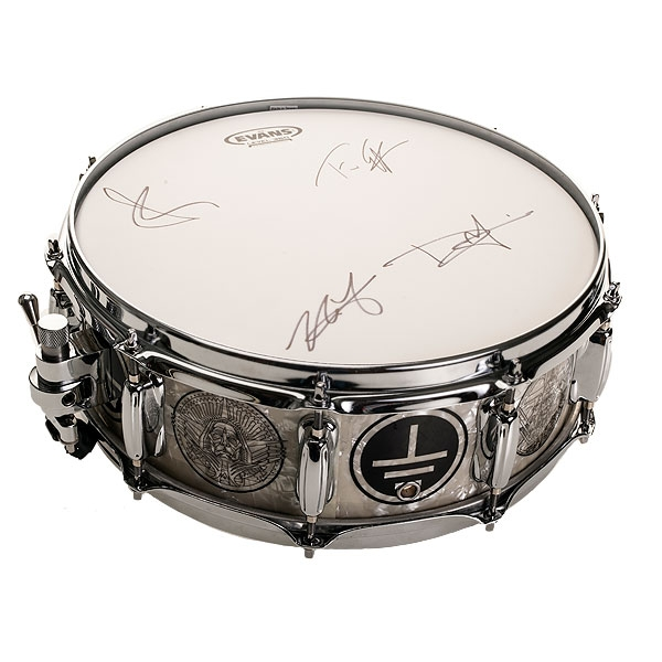 Earth Rocker Custom Charity Snare and Ca