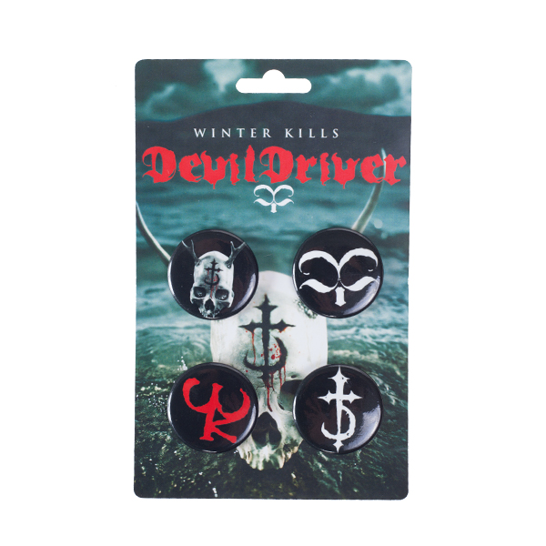 Winter Kills Pin Pack