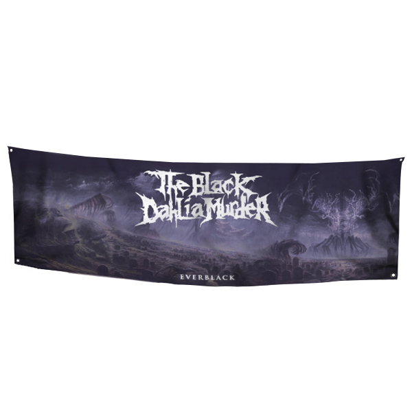 The Black Dahlia Murder Quot Everblack Flag Quot Banners The