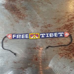 'Free Tibet' Bracelet