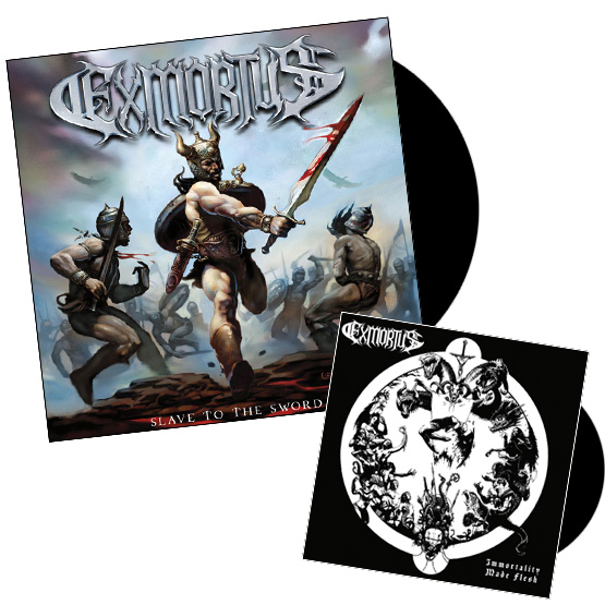 Slave To The Sword LP + Immortality Made Flesh EP