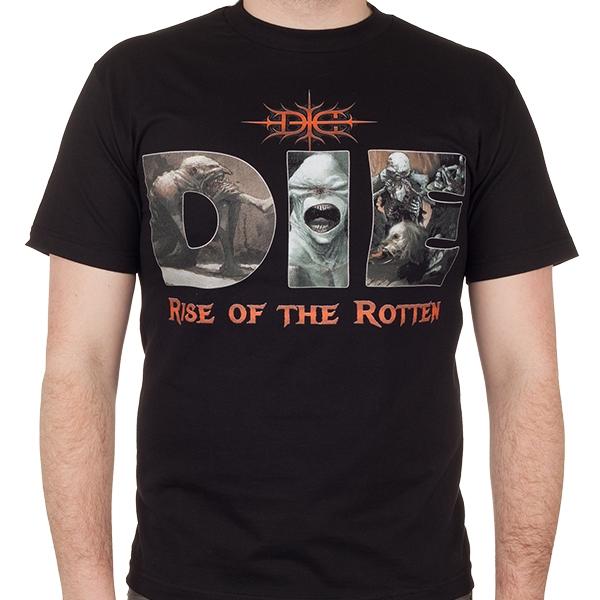 Die Quot Rise Of The Rotten Quot T Shirt Indiemerchstore