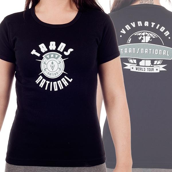 """World Tour"" - Ladies T-Shirt"