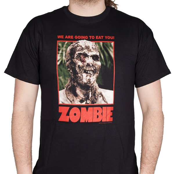 Zombie 1979 Quot Full Color Poster Art Quot T Shirt