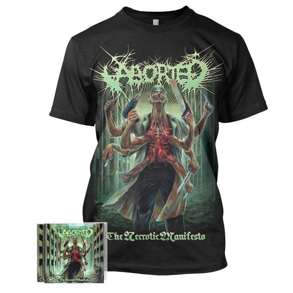 Pre-Order: Necrotic CD/Tee Bundle