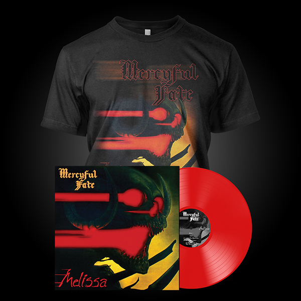 Mercyful Fate Quot Melissa Lp Tee Quot Bundle Metal Blade Records