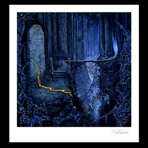 Limited Edition Print. Entombed (Left Hand Path)
