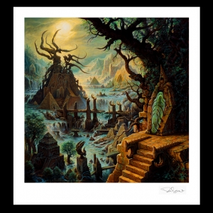 Limited Edition Print. Rivers of Nihil