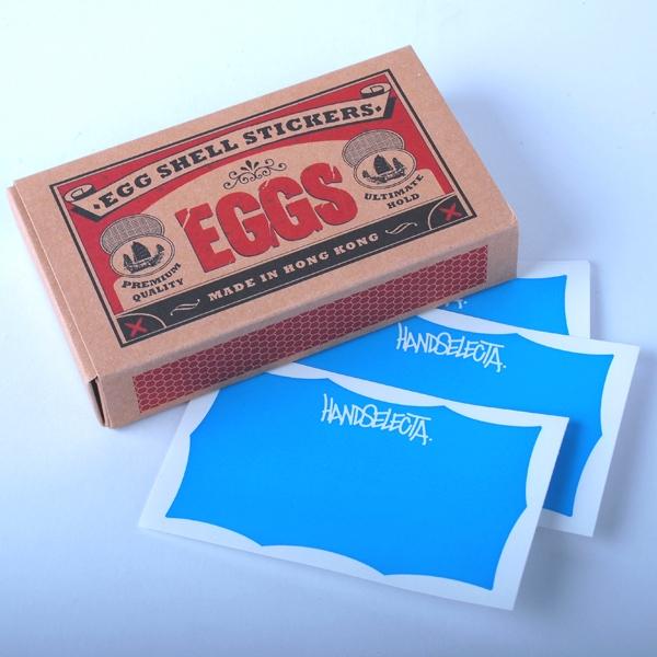 Handselecta - Eggshell Sticker Pack