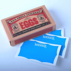 Handselecta - Eggshell Sticker Pack