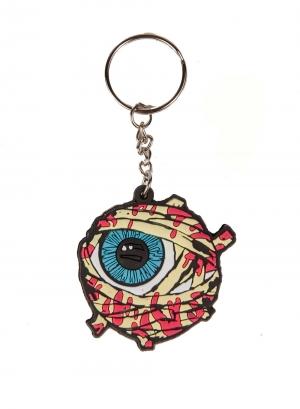 Gazin Mummy Keep Watch Rubber Keychain