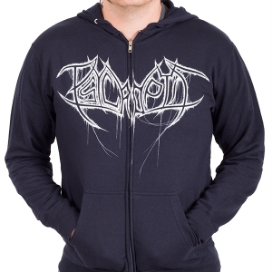 Dripping Logo Zip Navy