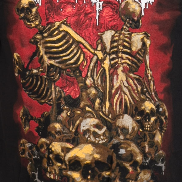 Cannibal Corpse Quot Skeletons And Skulls Quot T Shirt