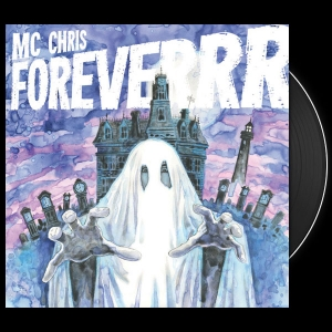 mc chris foreverrr LP, black vinyl