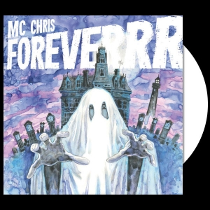 mc chris foreverrr LP, white vinyl