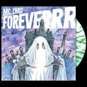 mc chris foreverrr LP, splatter vinyl