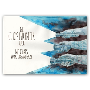 2014 ghost hunter tour poster