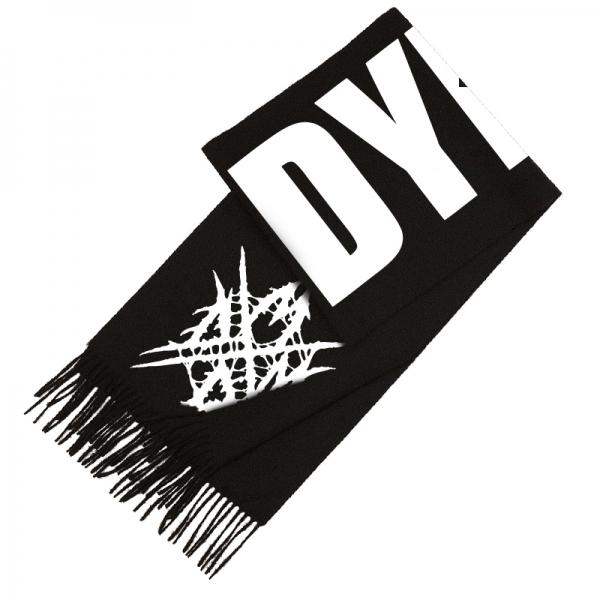 dying fetus quotlogo scarfquot scarves indiemerchstore