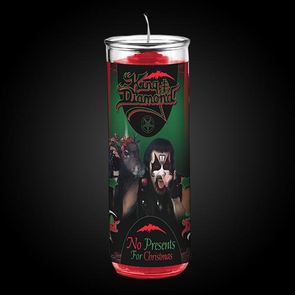 "King Diamond ""No Presents for Christmas Candle"" Candles ..."
