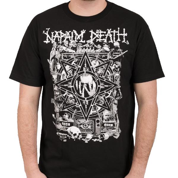 Napalm Death Quot Hope Quot T Shirt Indiemerchstore