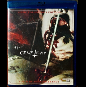 The Cemetery Special Edition Blu-Ray/DVD Combo *SIGNED*