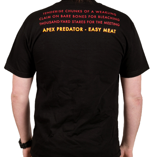 Napalm Death Quot Apex Predator Quot T Shirt Indiemerchstore
