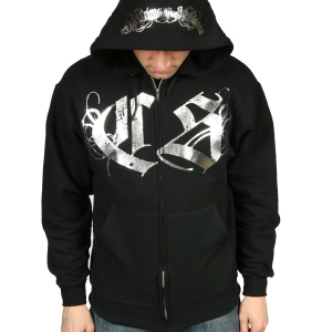 The Crimson  Syndicate Foil Logo Zip