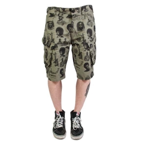 "Mishka x SSUR*PLUS ""Radicals"" BDU Shorts"