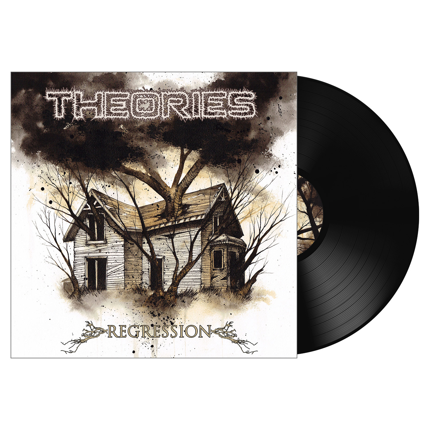 Theories Quot Regression Black Vinyl Quot 12 Quot Metal Blade Records