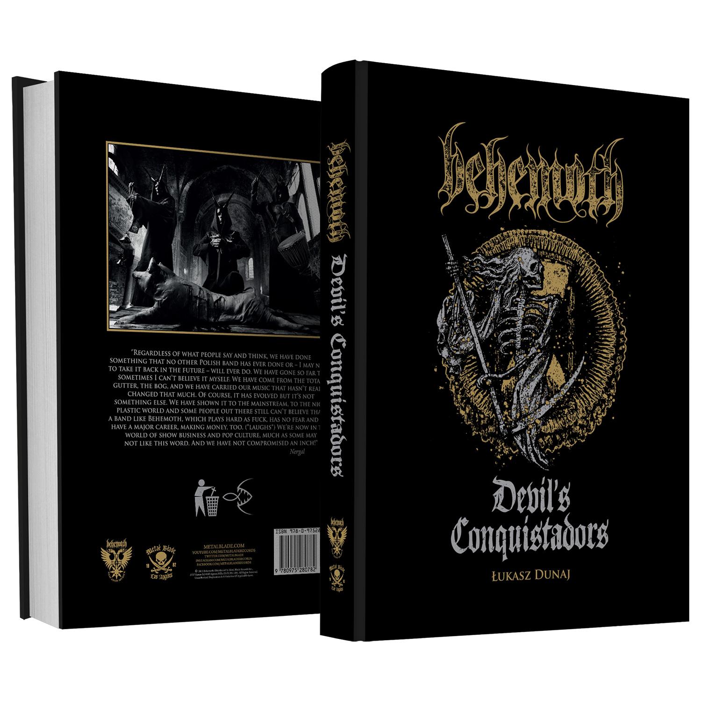 Behemoth Quot Devil S Conquistadors Quot Hardcover Book Metal
