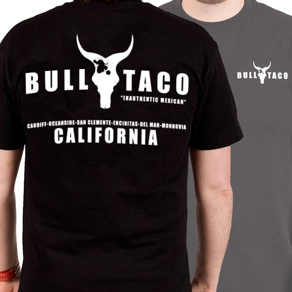 """Populaire Bull Taco """"Logo Tee"""" T-Shirt - Bull Taco GY77"""