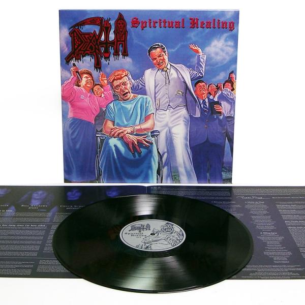"Death ""Spiritual Healing Reissue"" 12"" - Relapse Records  Spiritual"