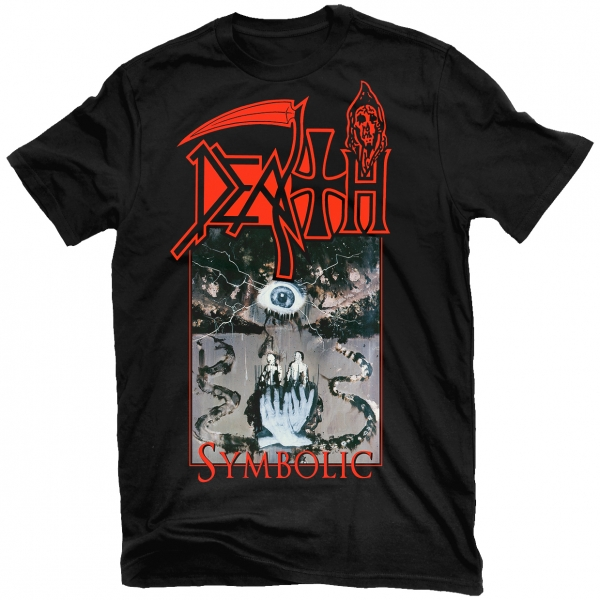 Death Symbolic T Shirt Relapse Records
