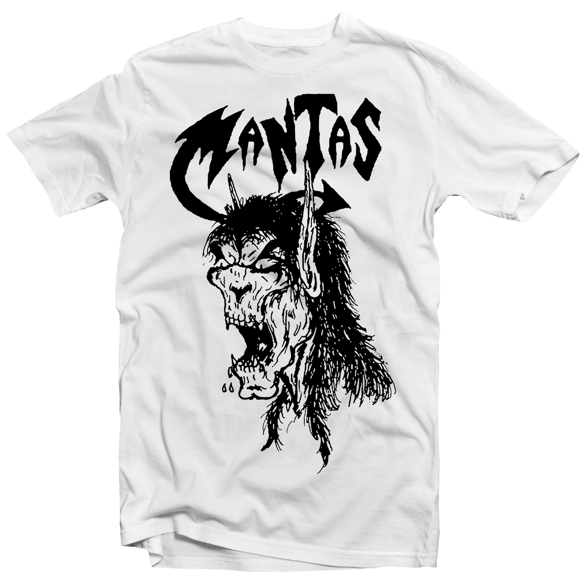mantas death by metal t shirt relapse records. Black Bedroom Furniture Sets. Home Design Ideas