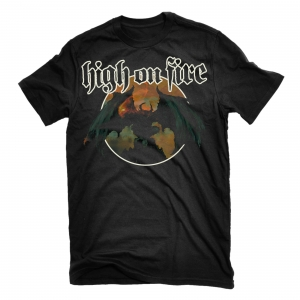 Relapse records official store for On fire brand t shirts