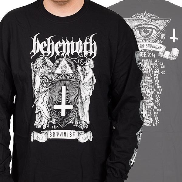 Behemoth Quot Satanist Eye Tour Quot Longsleeve Indiemerchstore