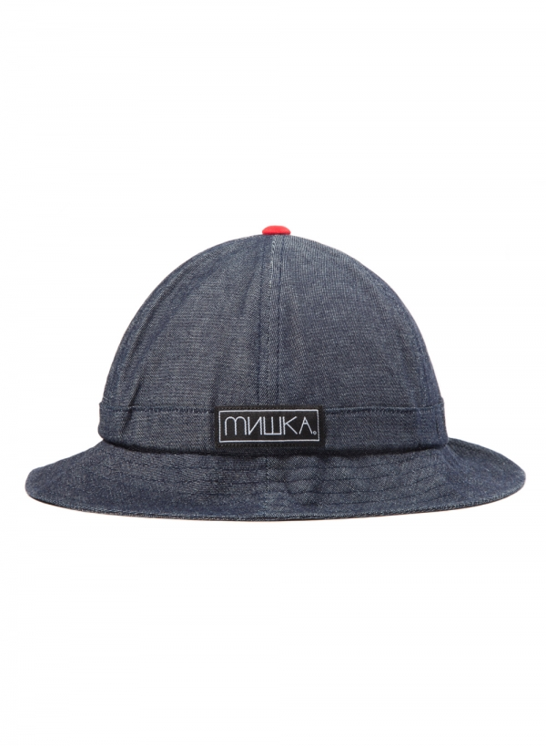 Denim Tennis Bucket
