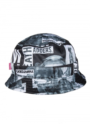 Radioactive Block Bucket Hat Cap