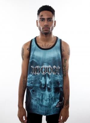 Death Ray Mesh Jersey Tank Top