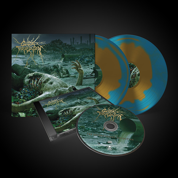 Cattle Decapitation Quot The Anthropocene Extinction Cd 2lp