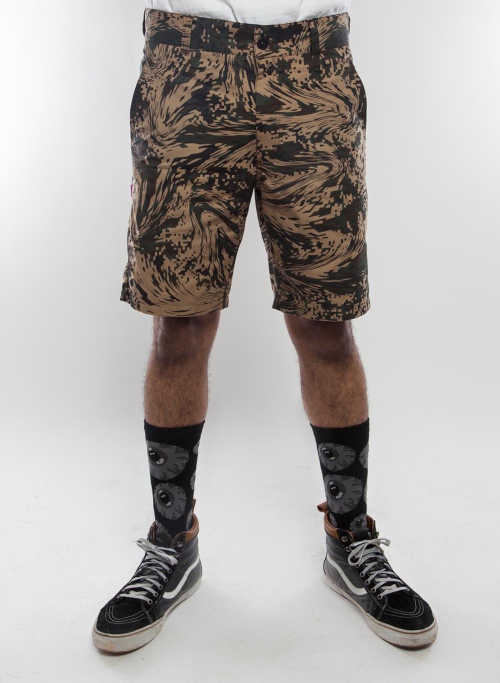 Hurricane Camo Ripstop Lurker Shorts