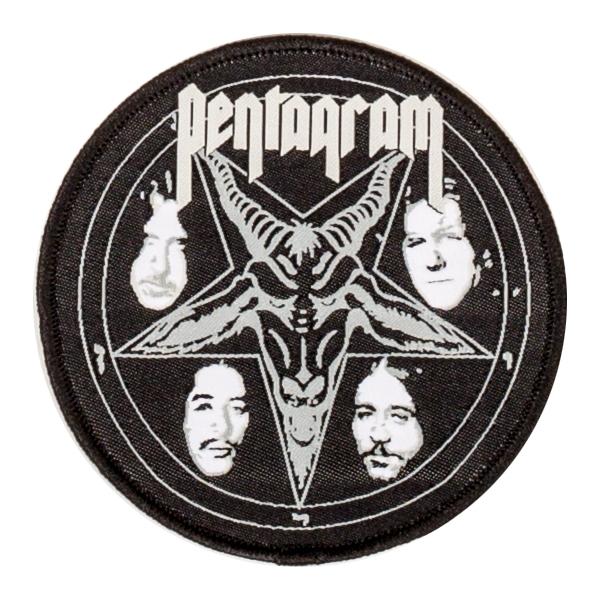 Pentagram Quot Baphomet Logo Quot Patch Indiemerchstore