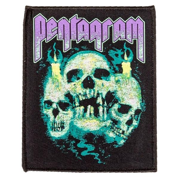 Pentagram Quot Skulls Quot Patch Indiemerchstore