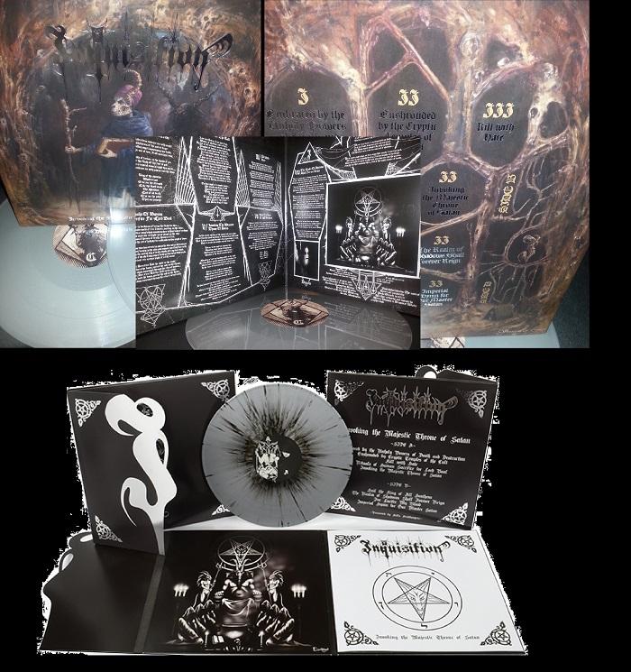 Inquisition Invoking The Majestic Throne Of Satan Inquisition &qu...