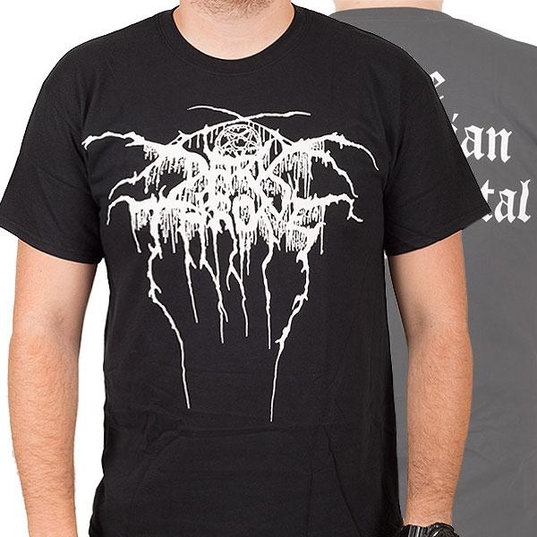 Darkthrone Quot Logo Quot T Shirt Indiemerchstore